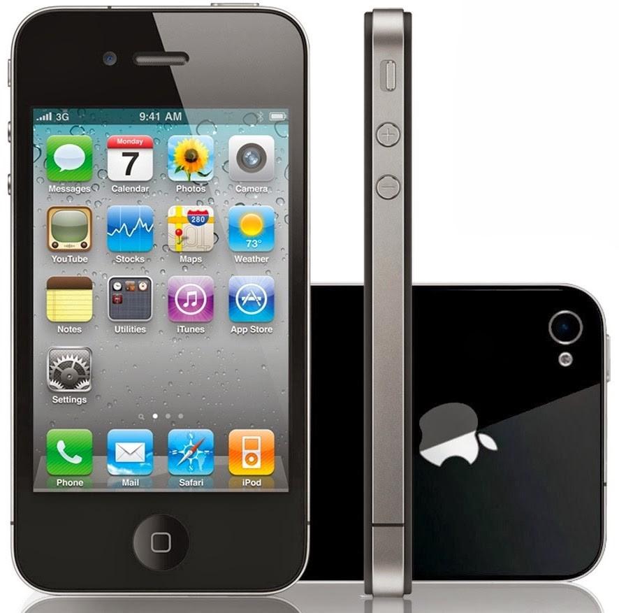Foto Handphone iPhone 4
