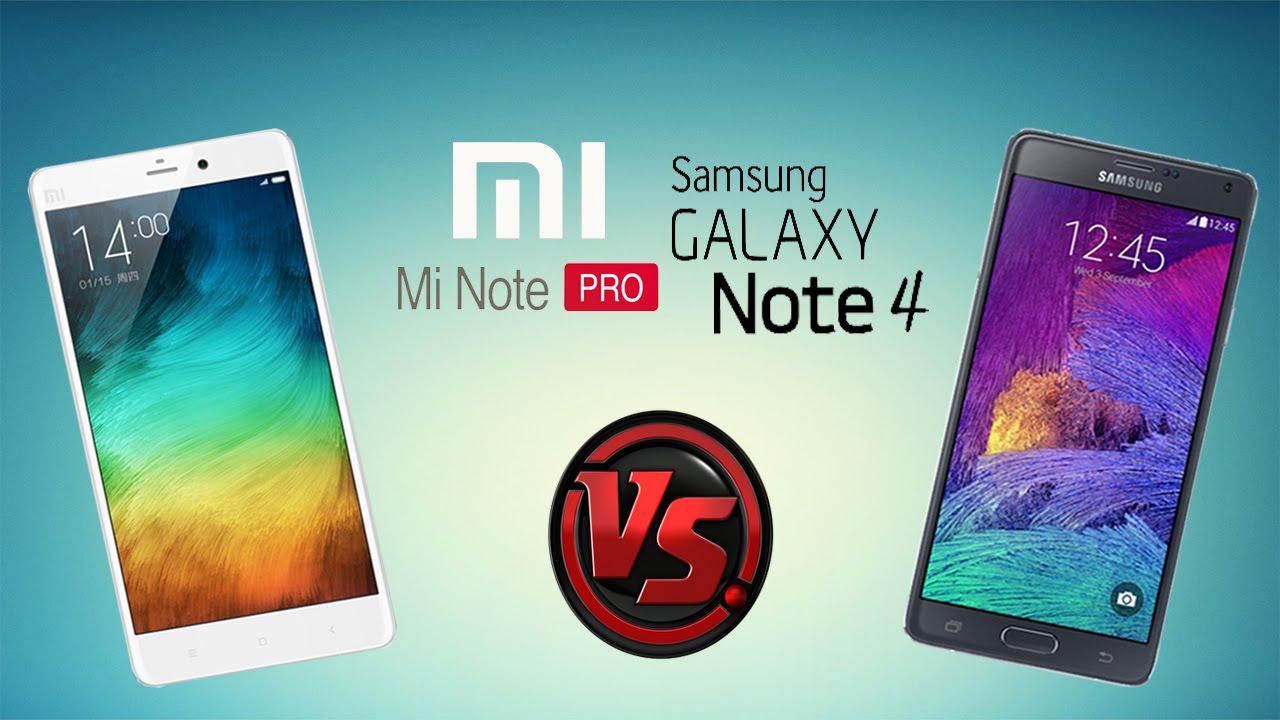Perbandingan Mi Note Pro dengan Galaxy Note 4