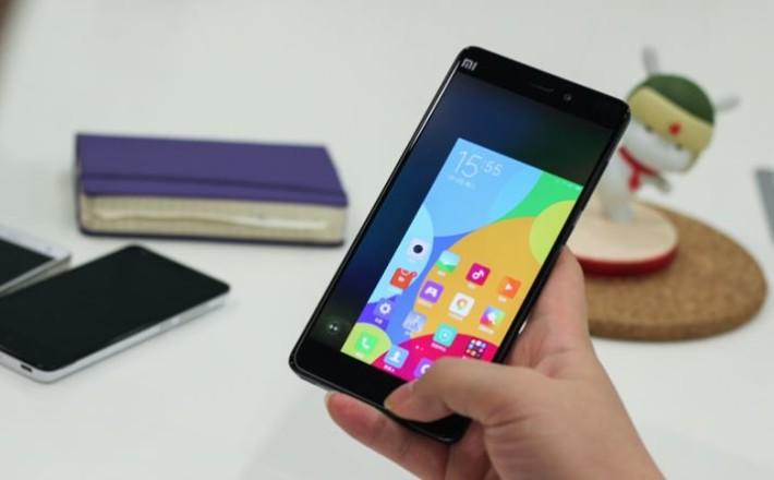 Xiaomi Mi Note Pro One Handed