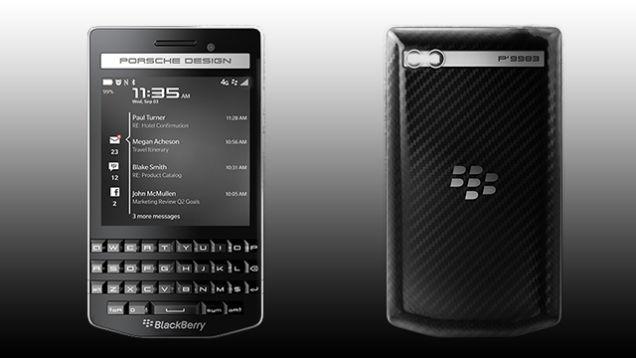 Blackberry Porsche