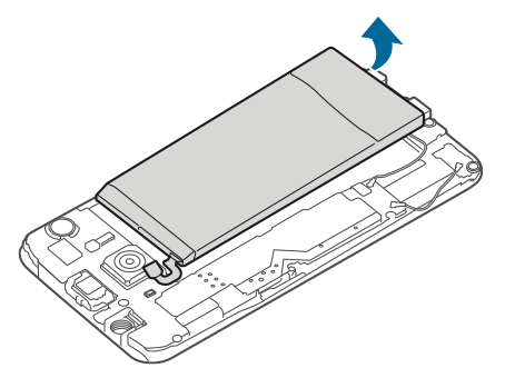 Lepas Baterai Galaxy S6