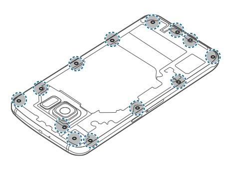 Lepas Baut Galaxy S6