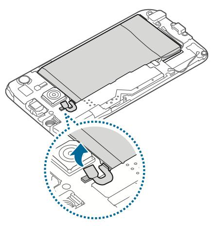 Lepas Konektor Baterai Galaxy S6