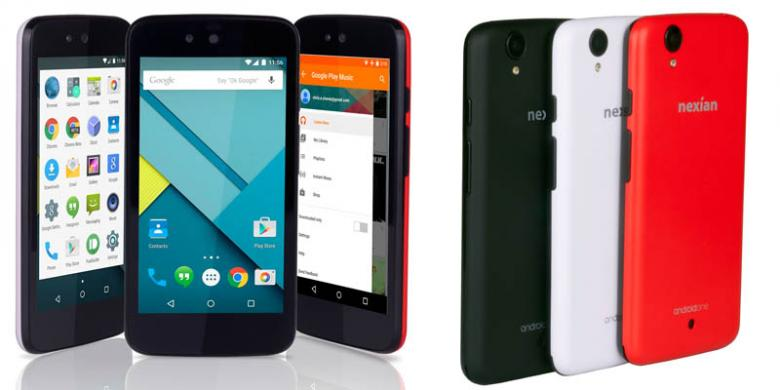 Nexian Journey One Smartphone Android One Lollipop Harga Terjangkau