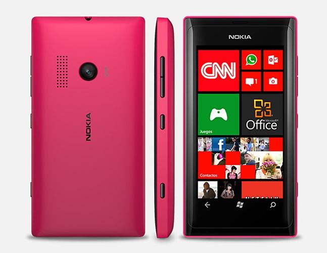 Desain Lumia 540