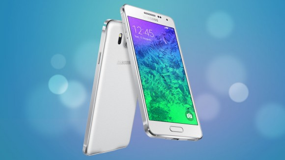 Desain Samsung Galaxy Alpha