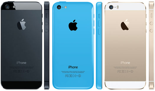 Pilihan Warna Apple iPhone 5S