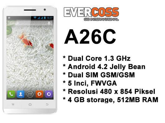 Spesifikasi Evercoss A26C