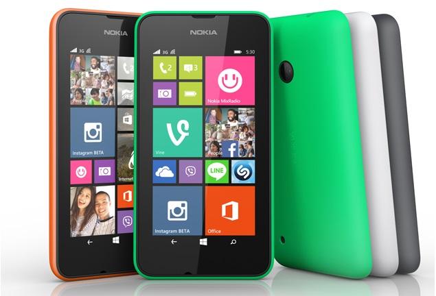 Varian Warna Nokia Lumia 530