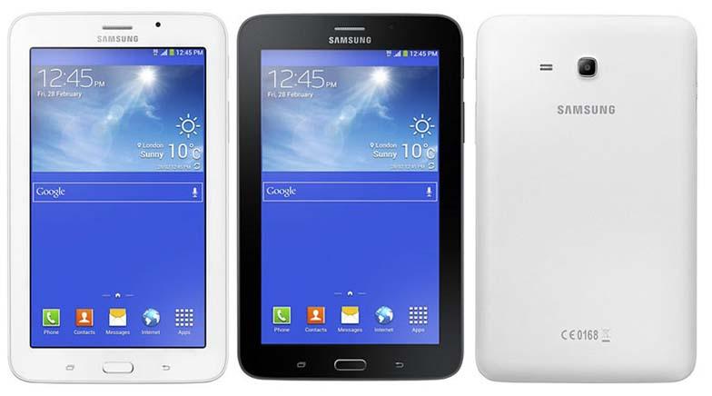 Depan & Belakang Samsung Galaxy Tab 3V