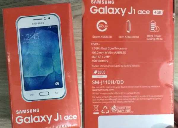 Dus Book Samsung Galaxy J1 Ace