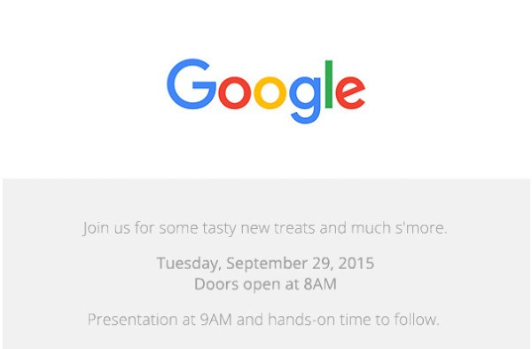 Undangan Google Nexus