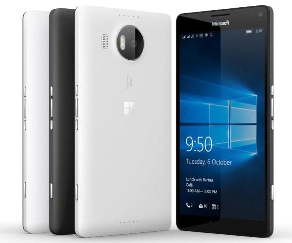 Desain & Varian Warna Microsoft Lumia 950 X