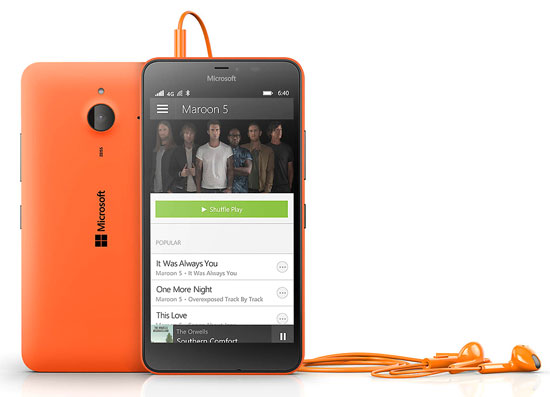Lumia 640 XL LTE Dual SIM Oranye