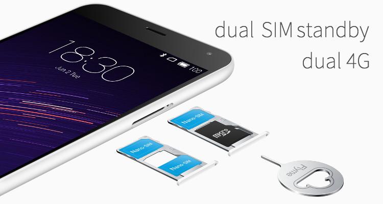 Meizu M2 Hybrid Dual SIM