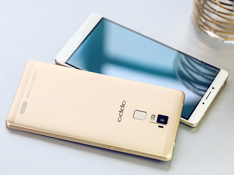OPPO R7s Plus Warna Emas
