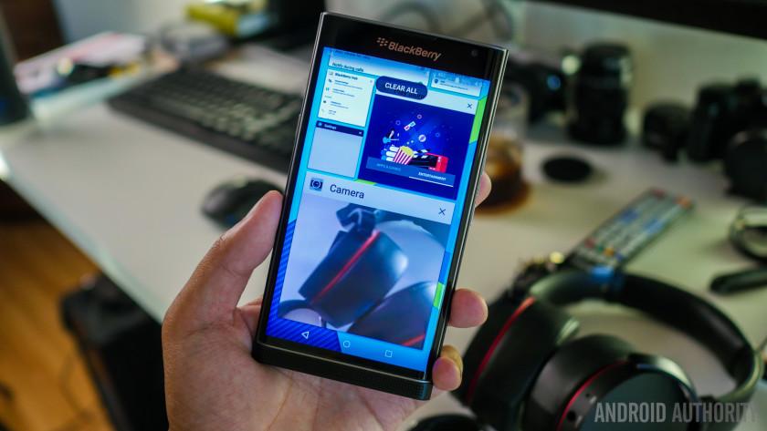 Perfoma dan Hardware Blackberry Priv