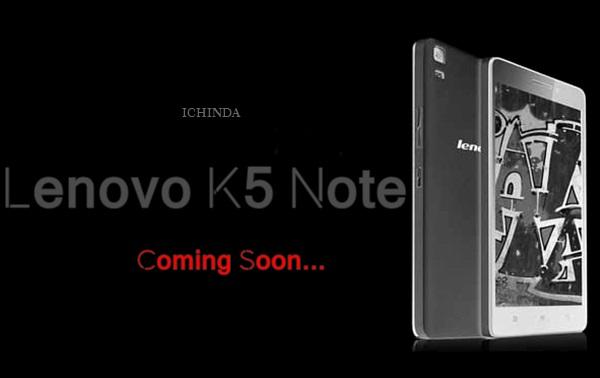 Lenovo K5 Note Promo