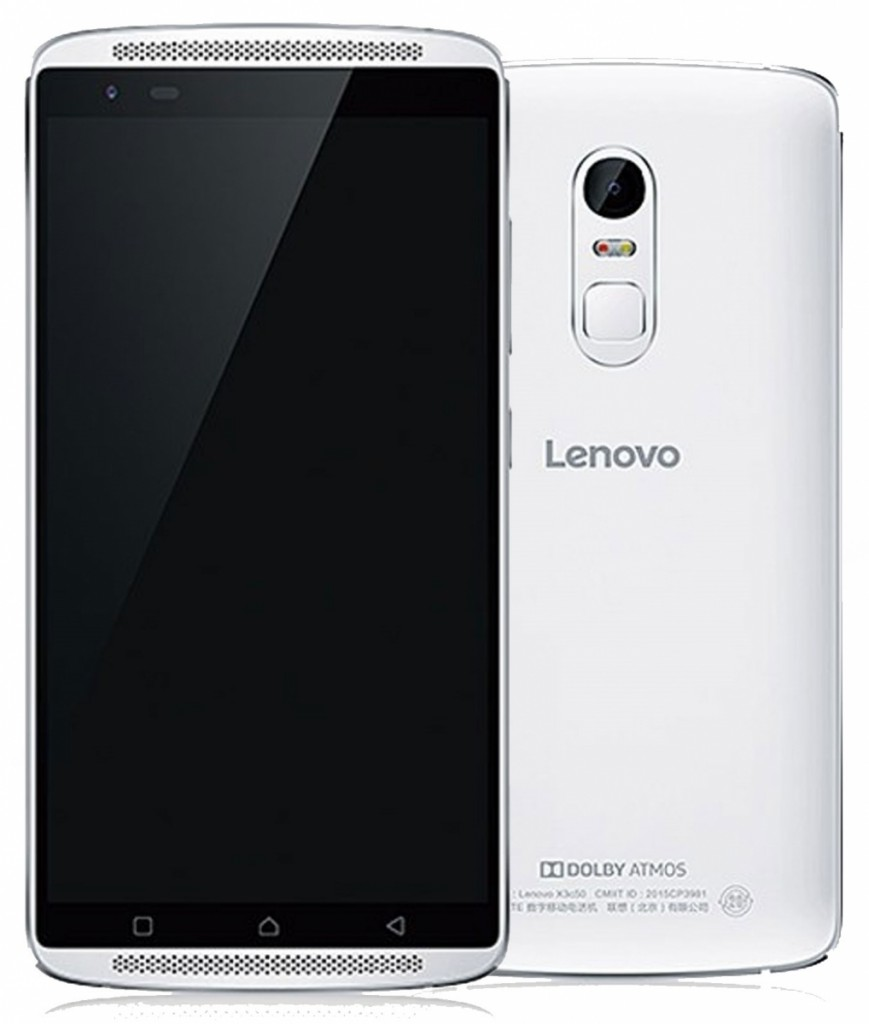 Tampilan Lenovo Vibe X3