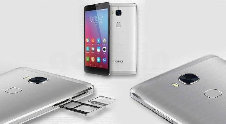 Desain Huawei Honor 5X