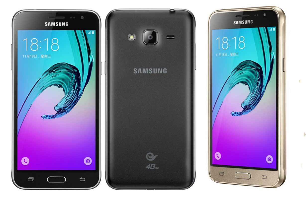 Desain Samsung Galaxy J3 2016
