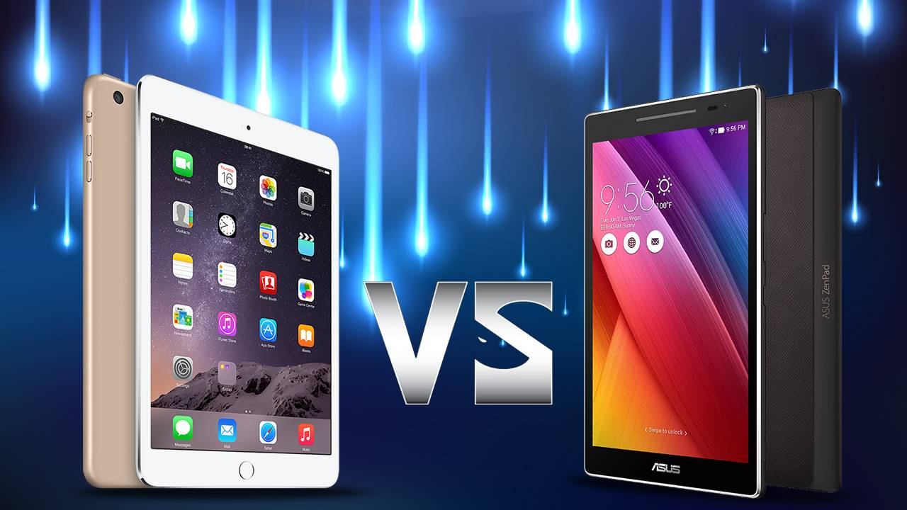 Asus ZenPad Z8 vs iPad Mini 4