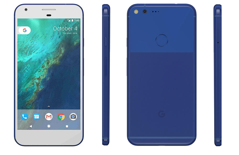 Desain Google Pixel & Google Pixel XL