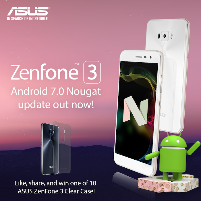 Asus Zenfone 3 - Android Nougat