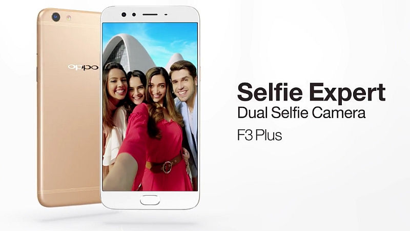 Dual Front Camera Oppo F3 Plus