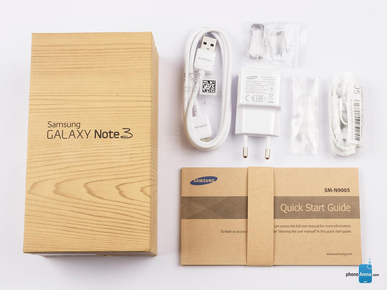 Kelengkapan Samsung Galaxy Note 3