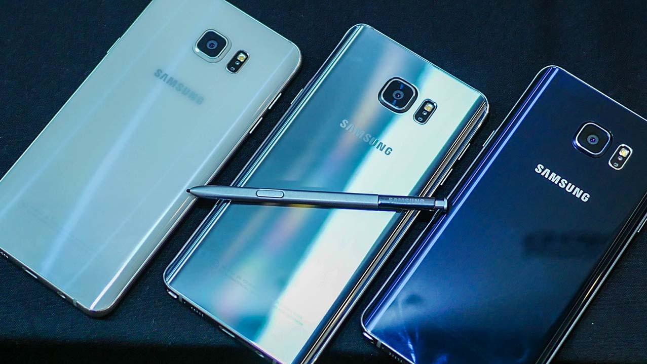 Pilihan Warna Samsung Galaxy Note 5