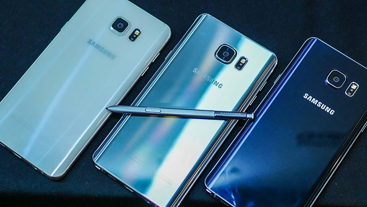 Pilihan Warna Samsung Galaxy Note 5