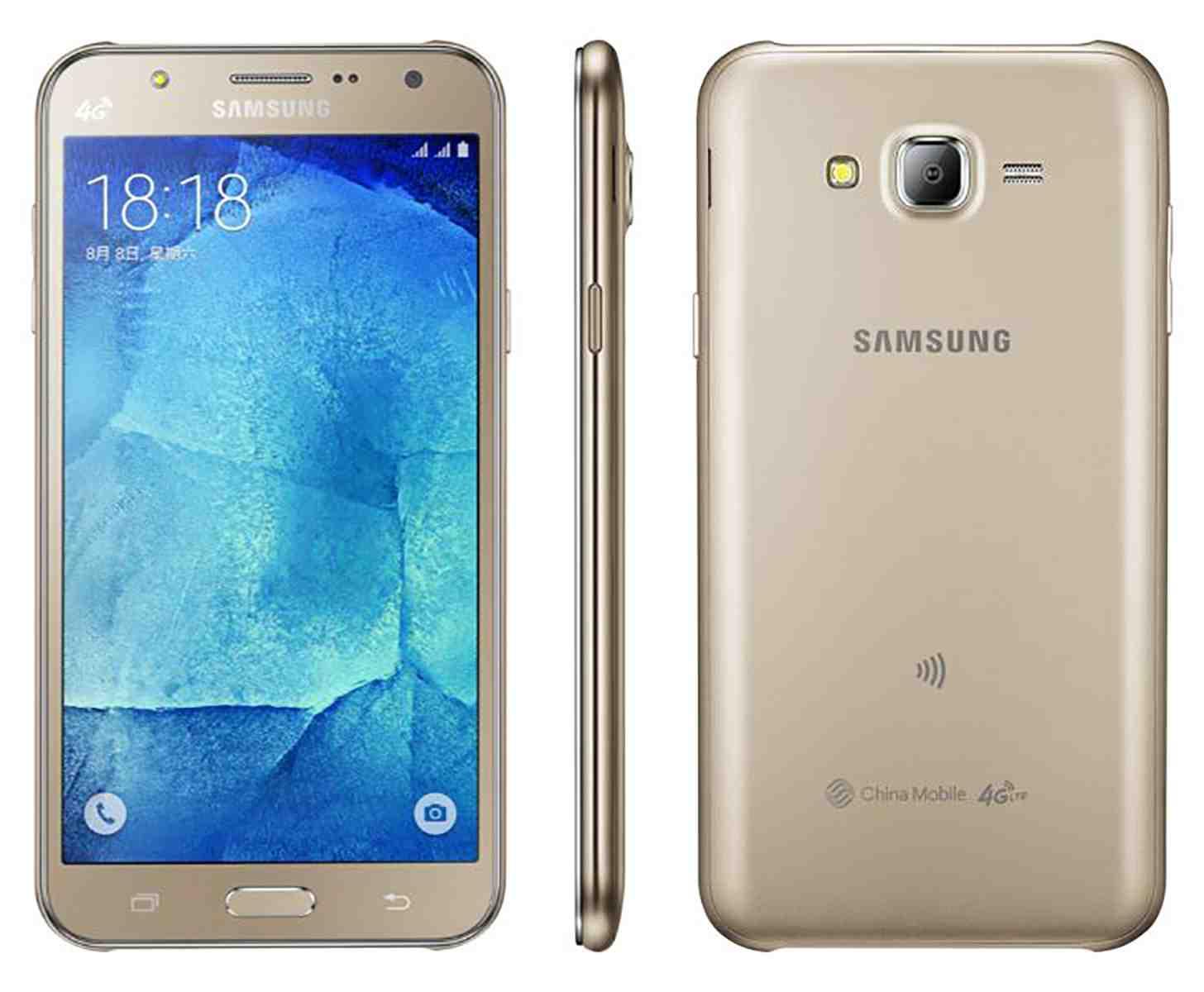 Desain Samsung Galaxy J7