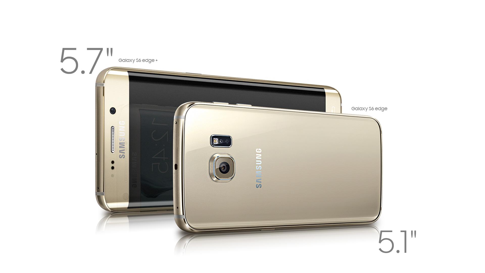 Perbedaan Galaxy S6 edge+ & Galaxy S6