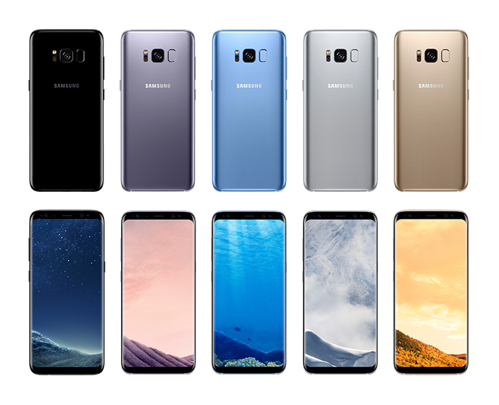 Pilihan Warna Samsung Galaxy S8
