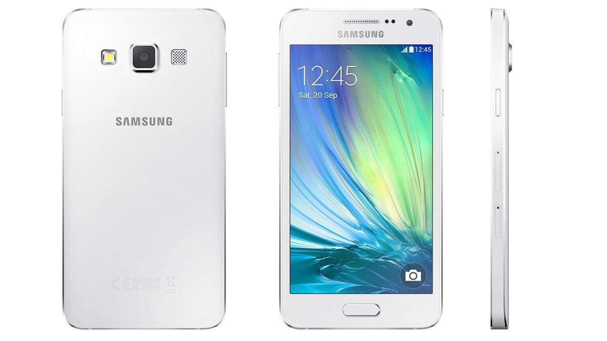 Desain Samsung Galaxy A3 (2015)