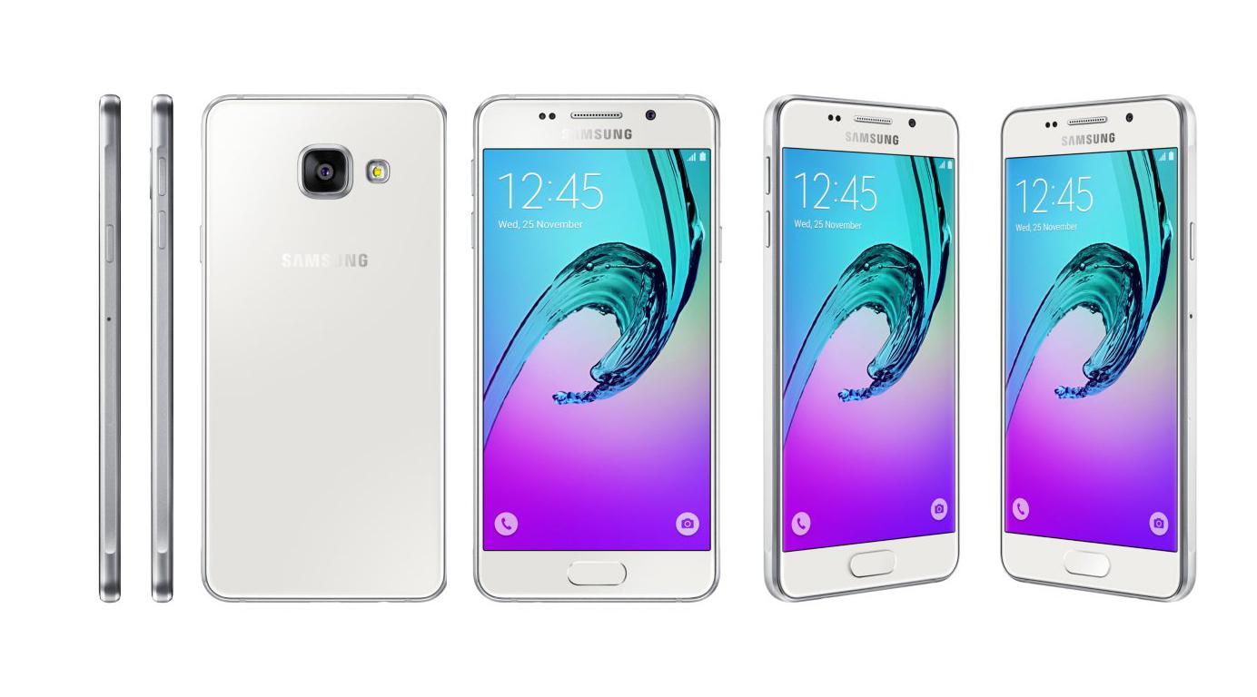 Desain Samsung Galaxy A3 (2016)