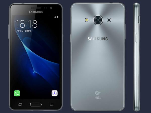 Desain Samsung Galaxy J3 Pro