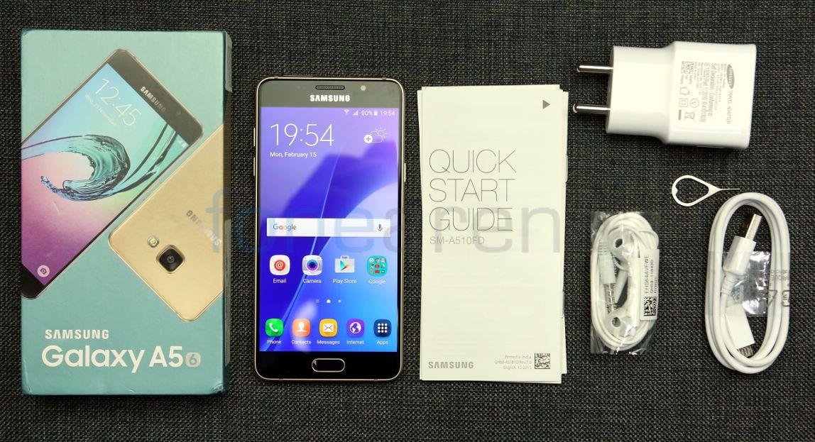 Kelengkapan Samsung Galaxy A5 (2016)