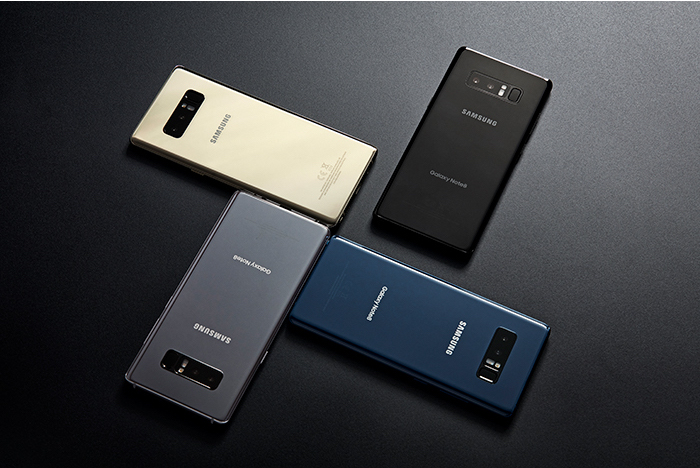 Pilihan Warna Samsung Galaxy Note 8