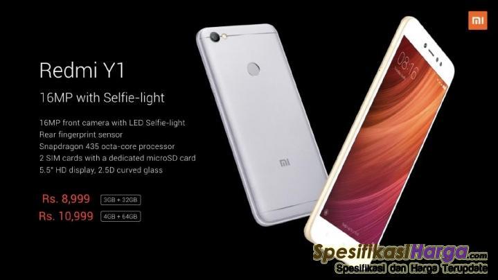 Spesifikasi Xiaomi Redmi Y1