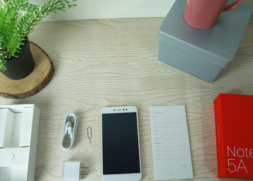 Paket Pembelian Xiaomi Redmi Note 5A Prime