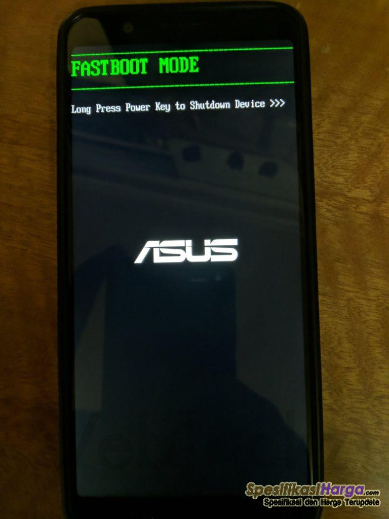 Fastboot mode Zenfone Max Pro M1